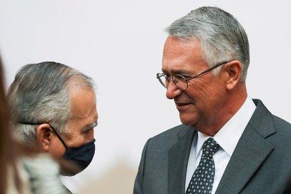 El manejo de Alfonso Romo al interior del gabinete ha sido polémico e incluso ha recibido duras críticas (Foto: Reuters / Henry Romero)