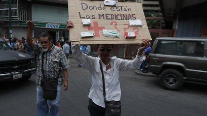 Protestas en Caracas (EFE)