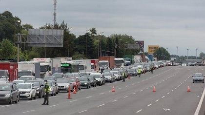 Así está autopista Panamericana