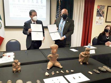 El Centro INAH del estado de Sonora estuvo a cargo de los dictámenes y valoraciones de los bienes. (Foto: INAH)