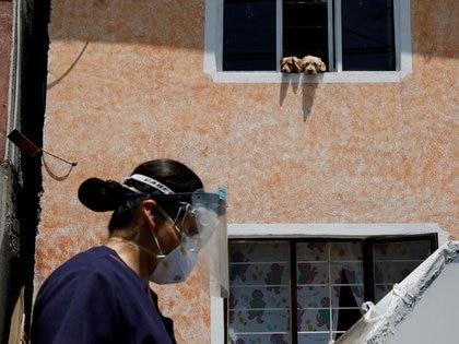 La media nacional de incidencia de casos activos por cada 100,000 habitantes se posicionó en un 38.86 (Foto: Reuters/Carlos Jasso)