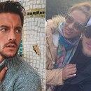 Francisco Delgado, Barby Silenzi y el Polaco (Instagram)