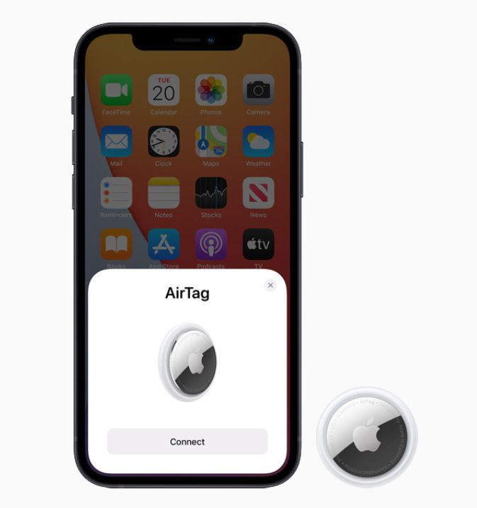 Air Tags de Apple