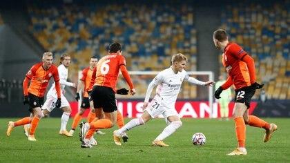 Martin Odegaard no sumó los minutos que esperaba y presiona para irse del Real Madrid (Foto: Reuters)