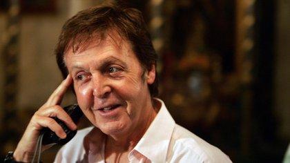 Paul McCartney tiene 77 años. (AFP)