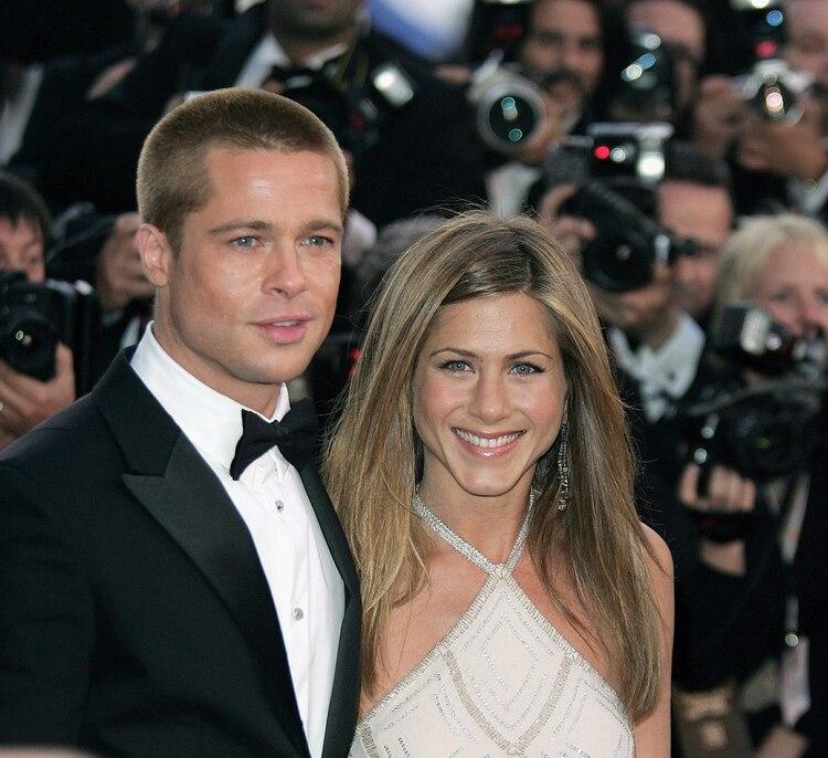 Se dijo que Aniston había conocido a los hijos de Brad