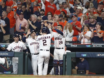 Los Astros son favoritos en la Liga Americana para asistir a la Serie Mundial (Foto: EFE/EPA/LARRY W. SMITH)
