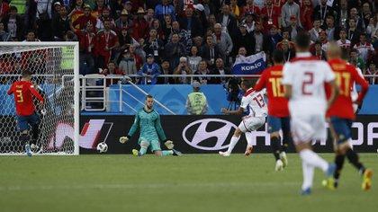 El gol de Marruecos