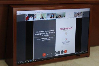 En la reunión virtual participaron diversos secretarios y alcaldes Foto: Ayuntamiento Nezahualcóyotl