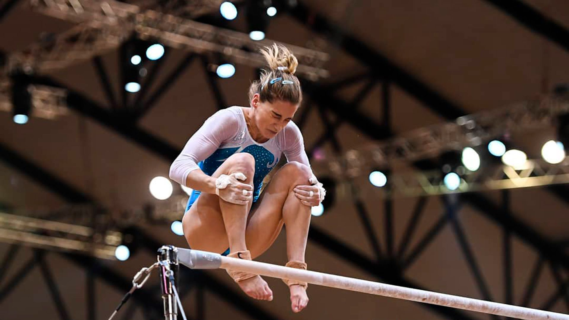 Ayelén Tarabini anunció su retiro de la gimnasia argentina
