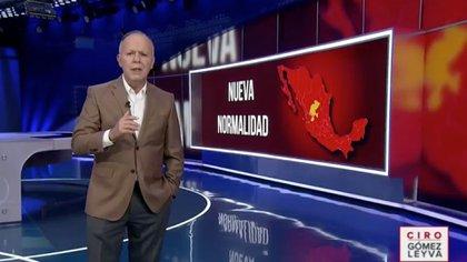 Ciro Gómez Leyva criticó a Hugo López Gatell. (Foto: Captura de pantalla)