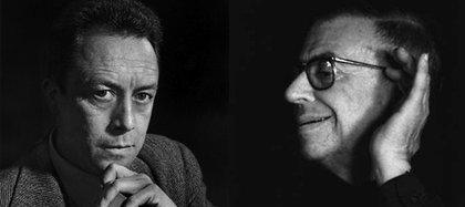 """El odio entre Camus y Sartre nunca fue en silencio. Este último llegó a calificarlo como """"ese pequeño golfo con cultura de segunda mano"""""""