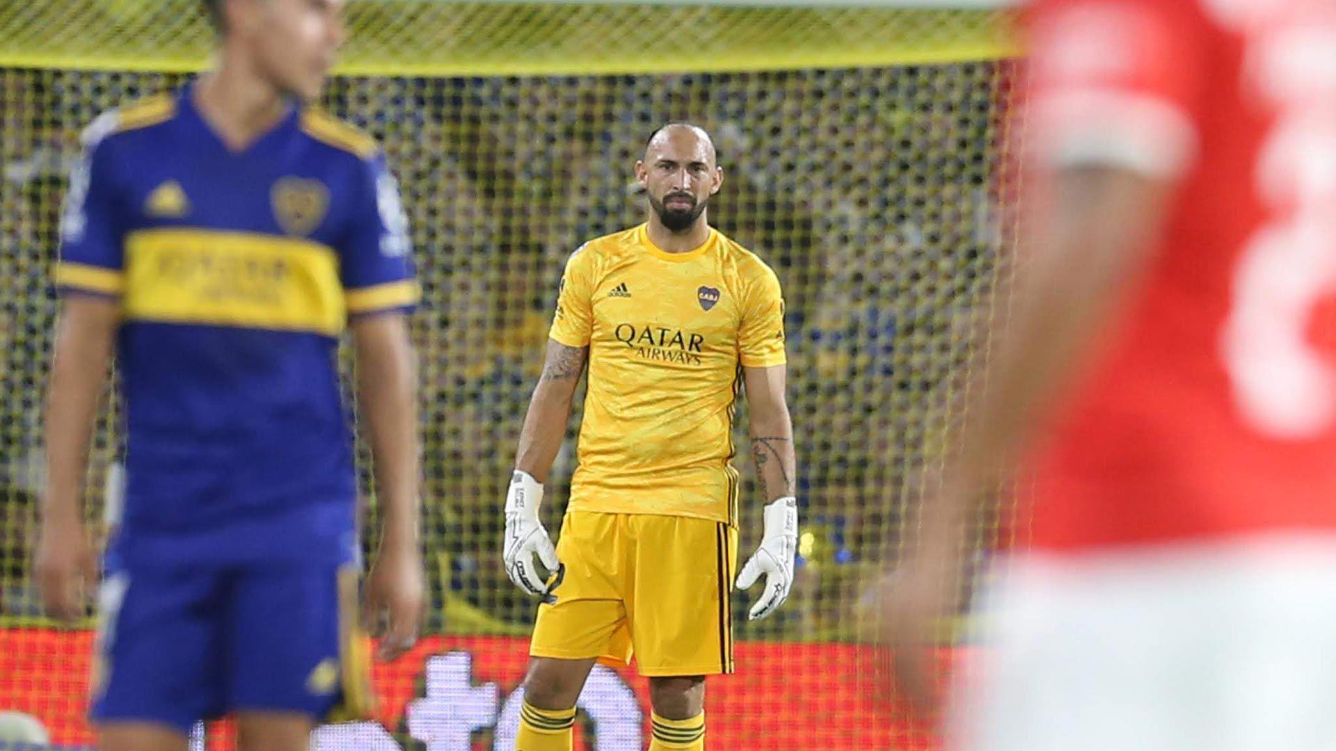 Marcos Díaz no seguirá en Boca (Fotobaires)
