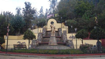 Mausoleo de Arguedas en su pueblo natal, Andahuaylas