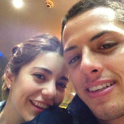 Lety Sahagún y Chicharito comenzaron un romance en 2008