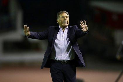 Miguel Ángel Russo habló de la actualidad de Boca (EFE/Rayner Peña/Archivo)