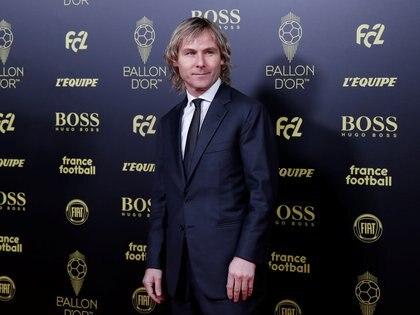 El ex futbolista checo y actual dirigente de la Juventus, Pavel Nedved