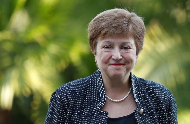 La directora gerente del FMI, Kristalina Georgieva (REUTERS)