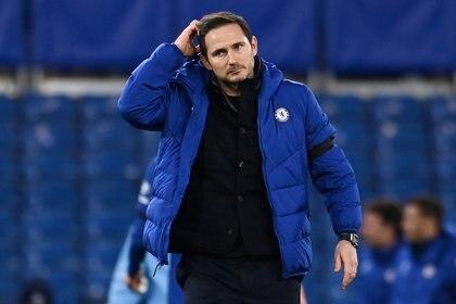 Frank Lampard fue destituido del Chelsea (REUTERS/Andy Rain)