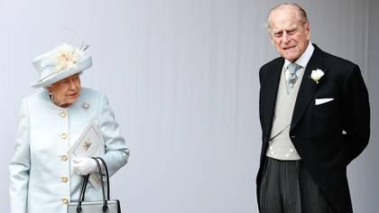 La reina Isabel ii y su esposo, el duque de Edimburgo (AFP)