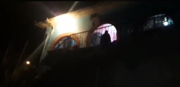 La casa donde fue localizado el cuerpo (Foto: Facebook AE Noticias)