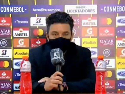 El enojo de Gallardo en conferencia de prensa