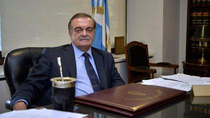 El presidente del Consejo de la Magistratura, Alberto Lugones (Gustavo Gavotti)