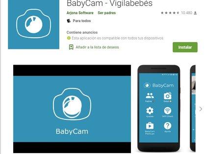 BabyCam tiene una versión gratuita y otra paga