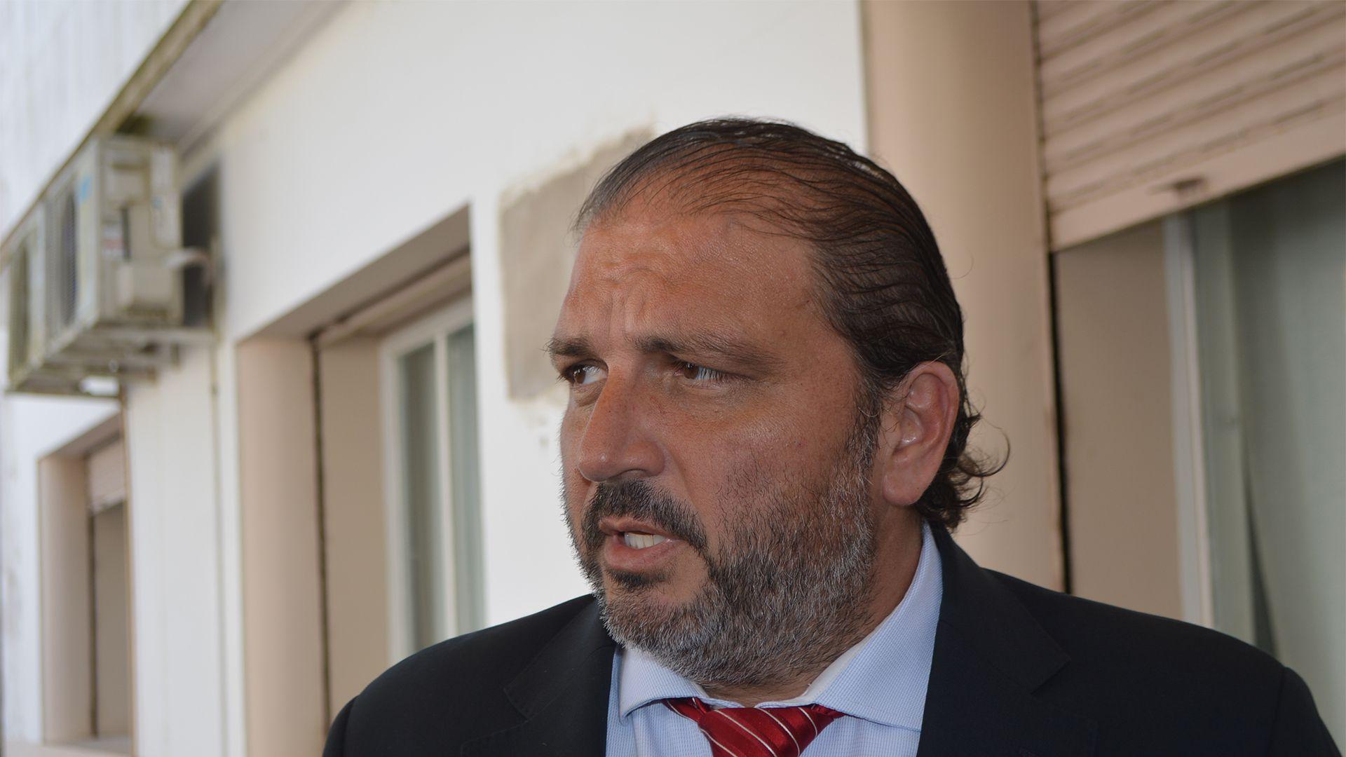 fiscal Juan Ignacio Bidone, uno de los acusados (Federico Zabalete)