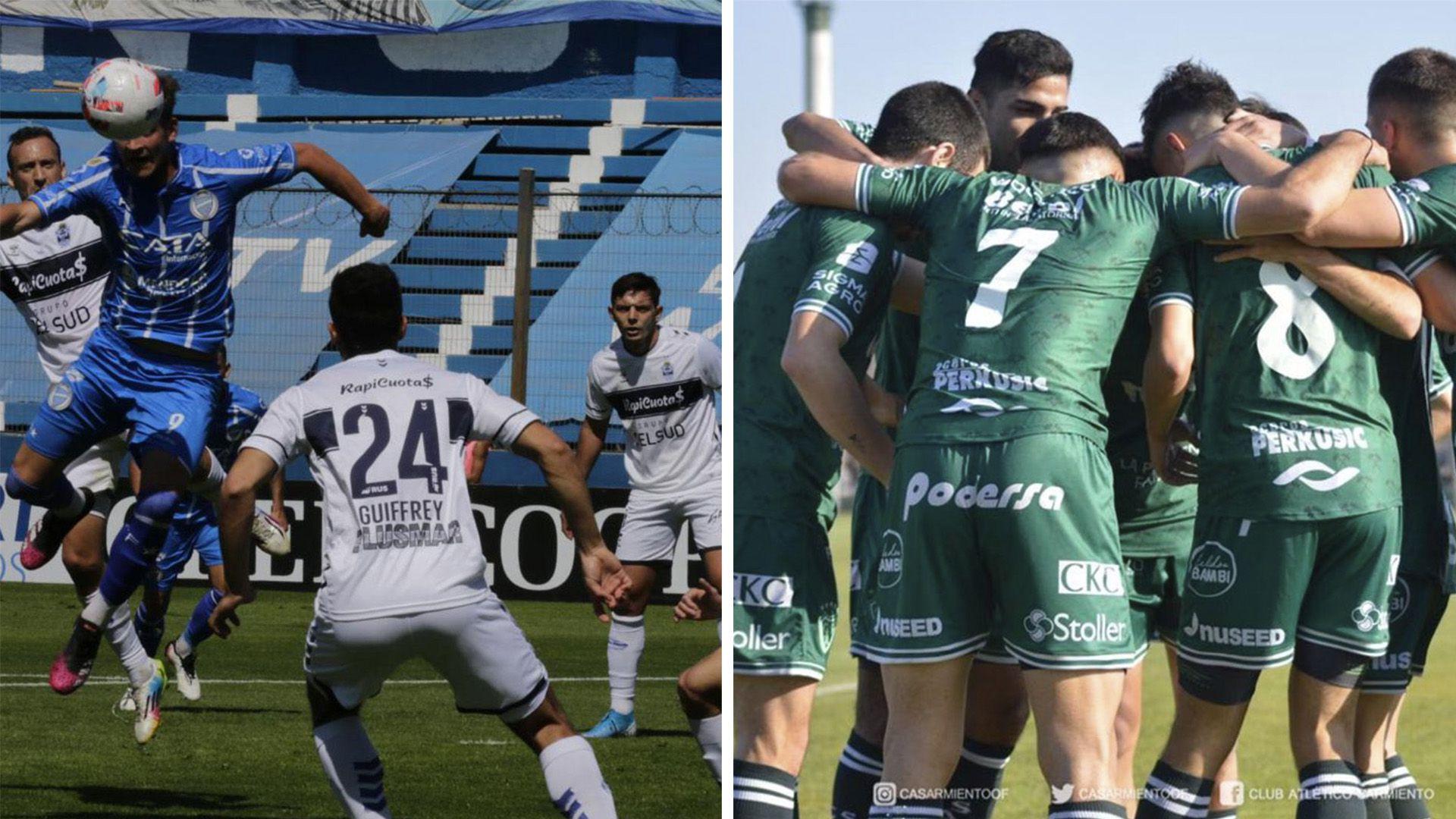 Gimnasia y Esgrima La Plata-Sarmiento de Junín
