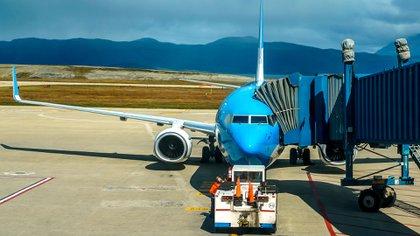 Aeropuerto Internacional de Ushuaia Malvinas Argentinas (Shutterstock)
