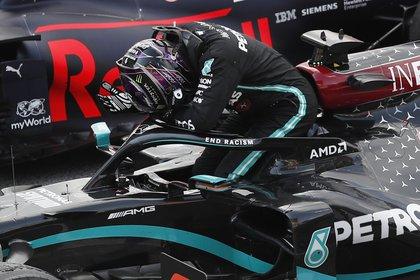 Lewis Hamilton, el rey actual de la F1 (REUTERS/Alejandro Garcia)