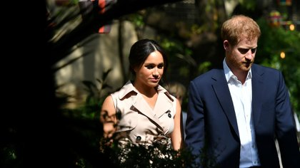 Meghan Markle y el Príncipe Harry (Reuters)