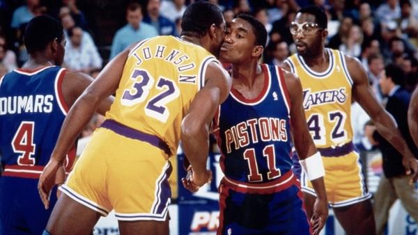 Magic Johnson e Isiah Thomas se reconciliaron luego de 25 años