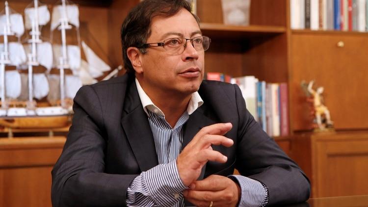 Gustavo Petro Candidato Presidencial Colombiano 2