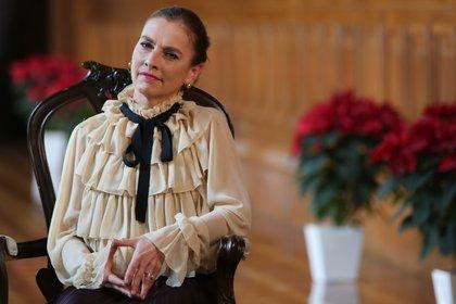 Beatriz Gutiérrez envió sus mejores deseos (Presidencia)