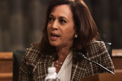 La senadora por California Kamala Harris (Alex Wong/REUTERS/Archivo)