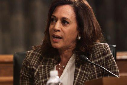 La senadora por California Kamala Harris (Alex Wong/REUTERS/Archivo)