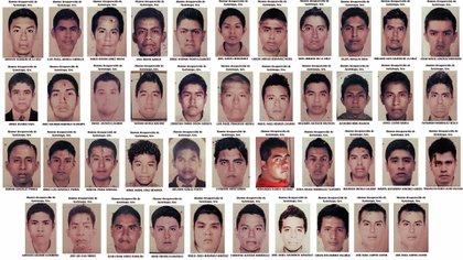Los 43 estudiantes desaparecieron. (Foto: especial)