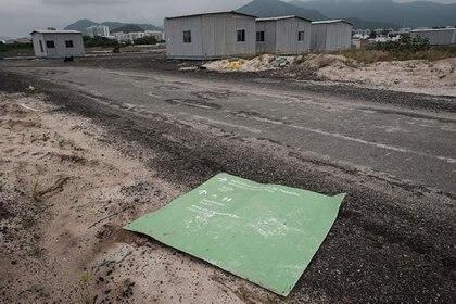 El notorio estado de abandono de las instalaciones para los Juegos Olímpicos de 2016 (AFP)