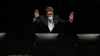 Ricardo Monreal le hizo un guiño a la oposición la semana pasada (Foto: Moisés Pablo/ Cuartoscuro)