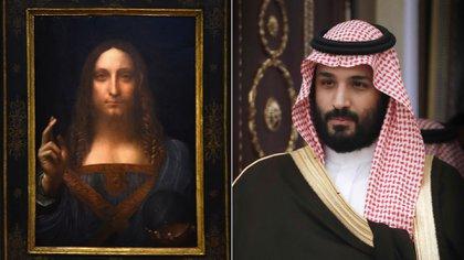"""El príncipe heredero de Arabia Saudita, Mohamed bin Salman, fue el verdadero comprador del """"Salvator Mundi"""""""