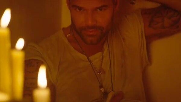 Ricky Martin presentó un avance de su nuevo video Fiebre