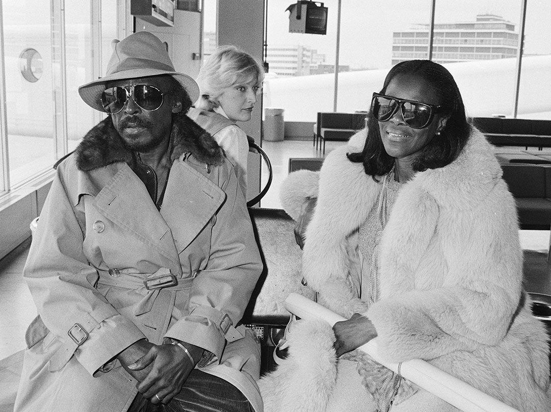 Miles Davis y Cicely Tyson, 1982