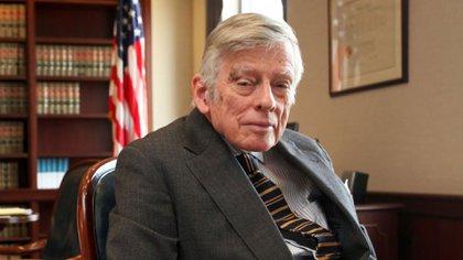 Thomas Griesa, juez del Distrito Sur de Nueva York, quien le dio la razón a los acreedores durante el gobierno de Cristina Kirchner