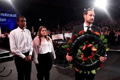 El príncipe heredero de Noruega, Haakon Magnus. Foto: Ronen Zvulun/REUTERS