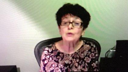 Helene  Gutkowski, sobreviviente al Holocausto.