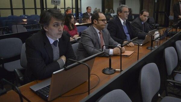 El abogado Leonardo Menghini (Gustavo Gavotti)