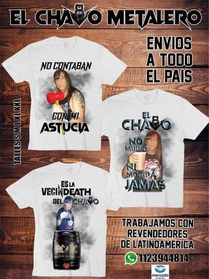 Gonzáles ahora vende mercadería (Foto: Facebook)