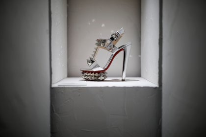 The Louboutins are often featured by movie stars, musicians and members of the royal family (Reuters)
